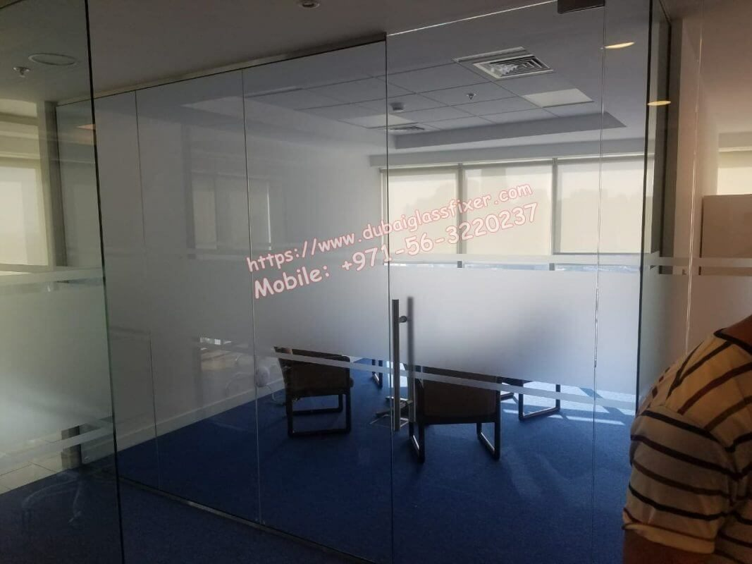 office partition and glass fix