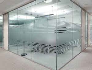 glass partition in Dubai