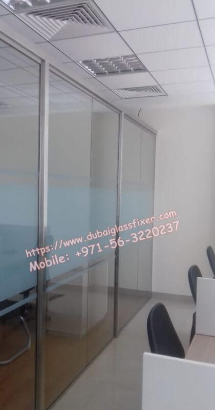 Office Glass Low Parititon